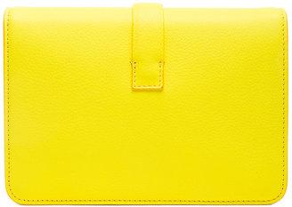 Victoria Beckham Mini Satchel in Acid Lemon