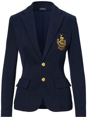 Polo Ralph Lauren Custom-Fit Fleece Blazer $265 thestylecure.com