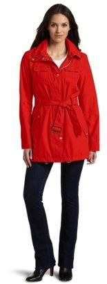 Miss Sixty Women's Belted Anorak Coat