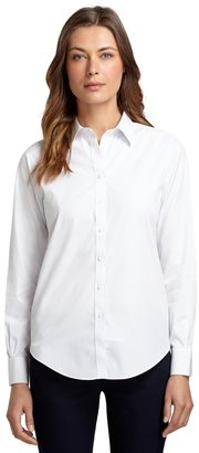 Brooks Brothers Non-Iron Classic Fit Pinstripe Dress Shirt
