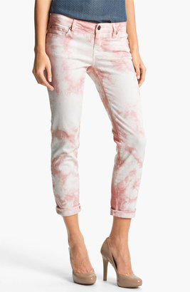 Jessica Simpson 'Forever' Cuffed Skinny Jeans (Peach Whip) (Online Exclusive)