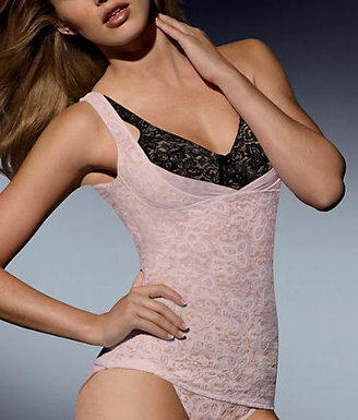 Bali Lace 'N Smooth Firm Control Wear Your Own Bra Torset Top Shapewear