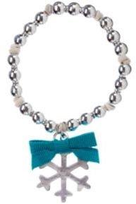 Crazy 8 Snowflake Charm Bracelet