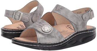 Finn Comfort Sausalito - 1572 (Espresso Corten Leather) Women's Sandals
