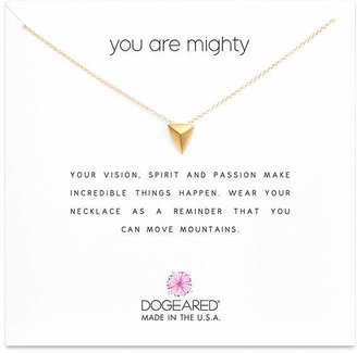 Dogeared You Are Mighty Necklace, 16""