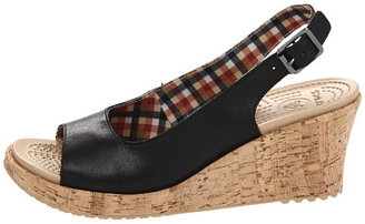 Crocs A-Leigh Wedge Leather