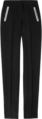 J.W.Anderson Mohair and wool-blend cigarette pants