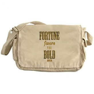 Discovery Bering Sea Gold Fortune Favors the Bold Messenger Bag
