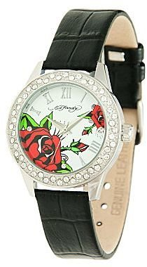Ed Hardy Womens Watch w/ Crystal Accents