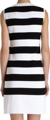 Barneys New York Striped Sweater Dress