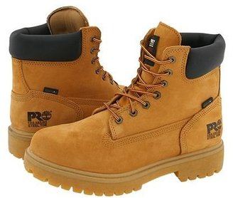 Timberland Direct Attach 6 Steel Toe (Wheat Nubuck Leather) Men's Work Lace-up Boots