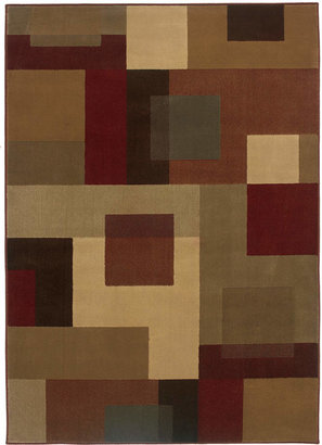 "Oriental Weavers Area Rug, Amelia 2261Y Red 2' 6"" x 4' 5"""