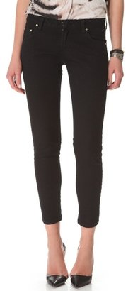 Balmain Pierre 5 Pocket Lace Up Jeans