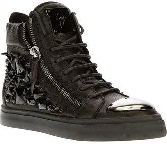 Giuseppe Zanotti Design embellished hi-top sneaker