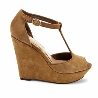 Jessica Simpson Shama Almond Suede Wedges