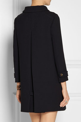 Miu Miu Wool-crepe coat