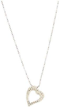 Judith Jack 60221667 Reversible Heart Necklace (Marcasite) - Jewelry