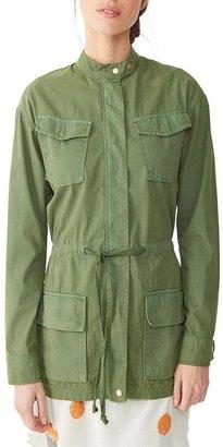 Alternative Apparel Herringbone Military Jacket $170 thestylecure.com