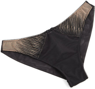 La Perla Traviata Brazilian Brief, Black