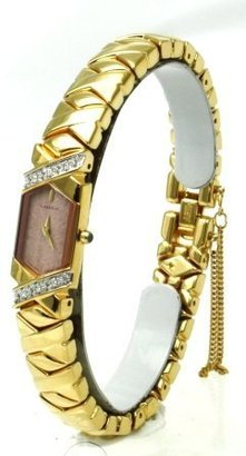 Seiko Lassale watches Top of the Line Diamonds Sapphire Crystal and Safety Chain 22 k Gold Finish all Made in Japan Women's Watch