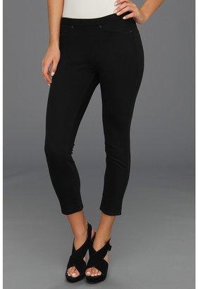 Hue Chino Skimmer Leggings (Black) - Apparel