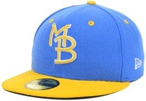 New Era Myrtle Beach Pelicans 59FIFTY Cap