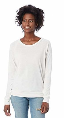 Alternative Women's Slouchy Pullover Sweatshirt $40 thestylecure.com
