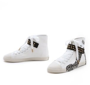 Be & D Skull Lace Sneakers