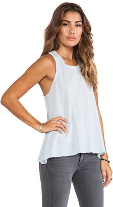 James Perse Crepe Jersey A Line Tank