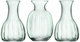 LSA International Mia Mini Vase Trio