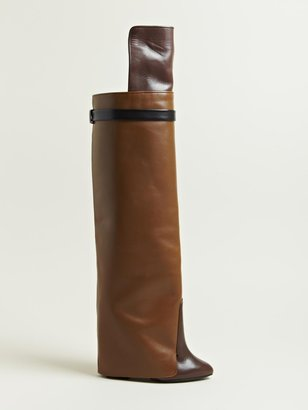 Givenchy Women's Knee High Calf Skin Boots