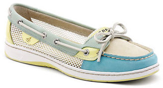 Sperry Angelfish Color-Block Leather Boat Shoes
