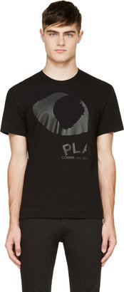 Comme des Garçons Play Black New Eye Logo T-Shirt $150 thestylecure.com