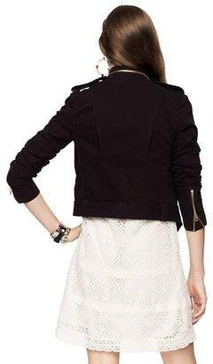 Glam Rock Solid Moto Jacket