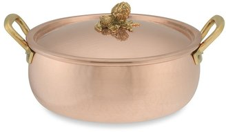 Ruffoni Historia Copper Artichoke Handle Braiser, 6-Qt.