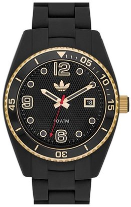 adidas 'Brisbane' Silicone Bracelet Watch, 42mm
