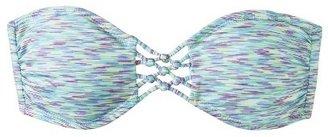 Xhilaration Junior's Bandeau Swim Top -Multicolor