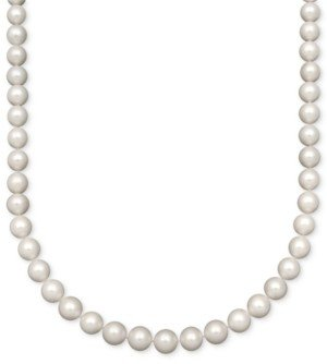 "Belle de Mer Aa+ 16"" Cultured Freshwater Pearl Strand Necklace (10-1/2-11-1/2mm) in 14k Gold"