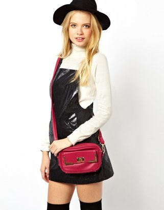 Asos Cross Body Bag With Twist Lock