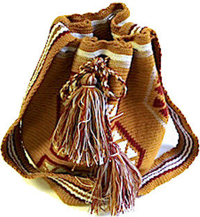 Wayuu Taya Foundation Susu Bag Light Brown