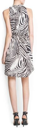 MANGO Zebra print dress