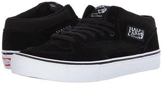 Vans Half Cab(r) Pro (Black/Black/White) Skate Shoes