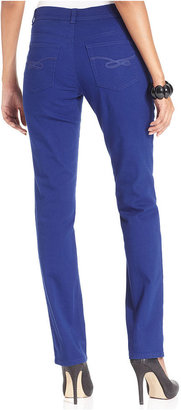 Style&Co. Jeans, Slim-Fit Tummy-Control, Colored Wash