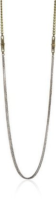 Bing Bang Men's Fob Multi Chain Necklace