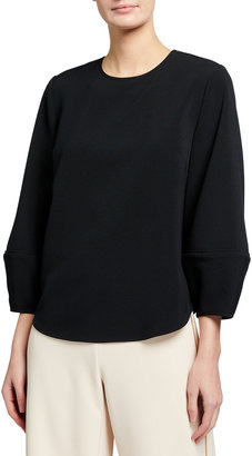 Toccin Lantern Sleeve Top