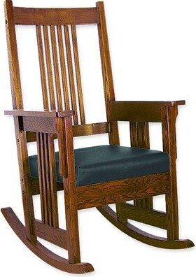 Oriental Furniture Rocking Chair