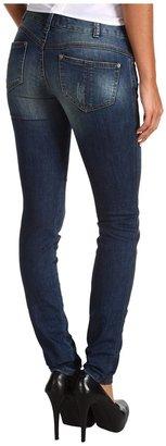 Free People Millenium Skinny Jean in Baja Wash (Baja Wash) - Apparel