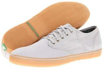 PF Flyers Exeter Suede (Grey/Canvas) - Footwear