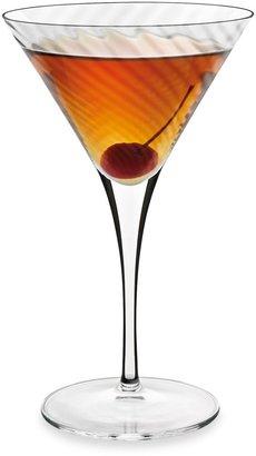 Luigi Bormioli Hypnos Optic Martini Glasses (Set of 4)