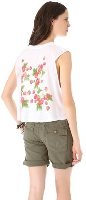 Wildfox Couture Strawberries Tank